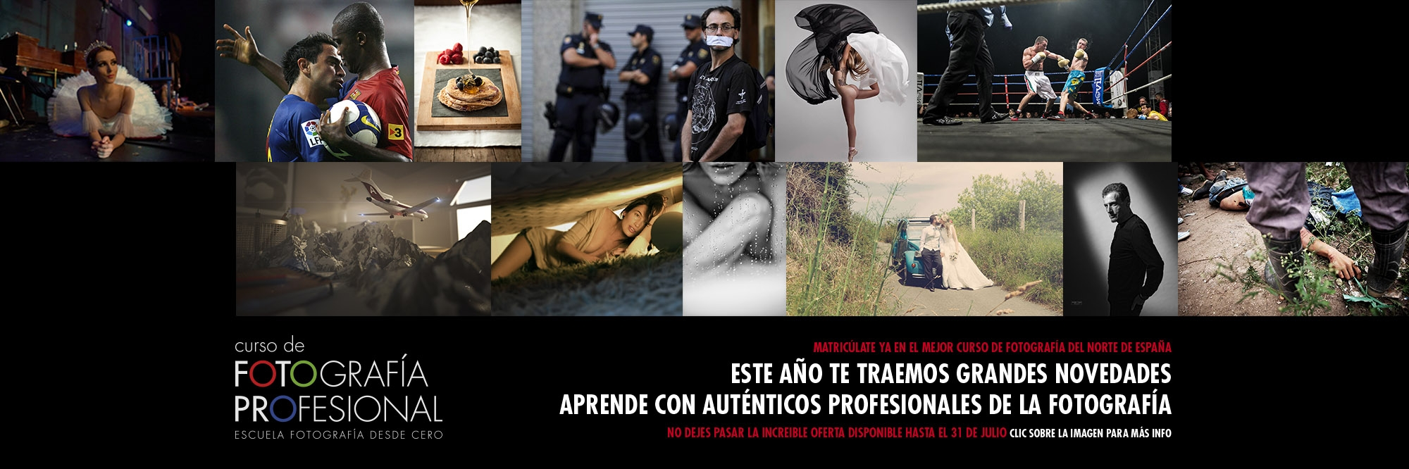 CURSO DE FOTOGRAFÍA PROFESIONAL