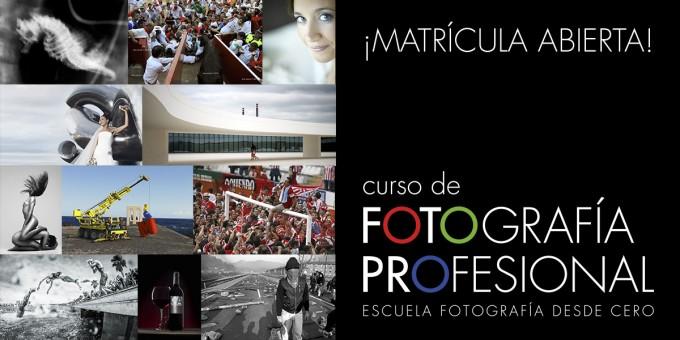 Curso De Fotografía Profesional ¡Matrícula Abierta!
