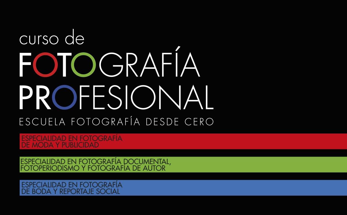 ¡Abierta Matrícula Para Las Tres Especialidades Del Curso De Fotografía Profesional!