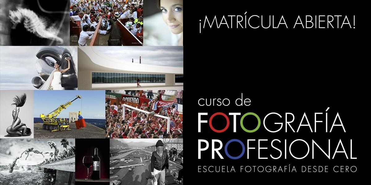 CURSO FOTOGRAFIA PROFESIONAL MATRICULA