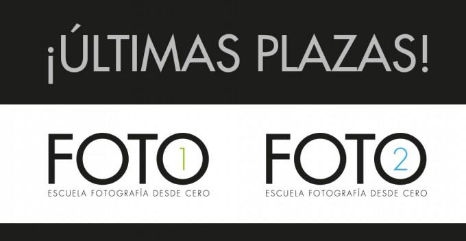 ¡Últimas Plazas Para Foto1 Y Foto2!
