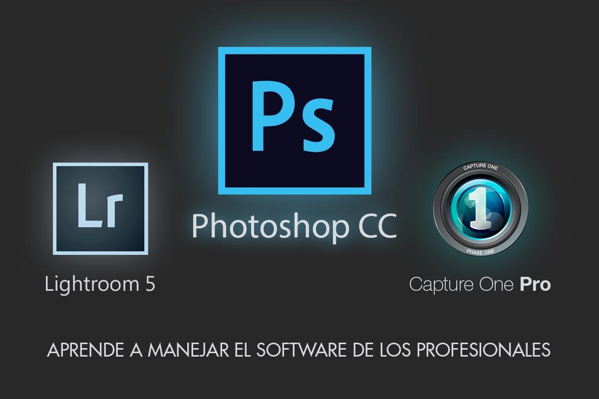 ¡Descubre El Nuevo Curso De Photoshop CC! Nuevas Convocatorias De Lightroom Y Capture One.