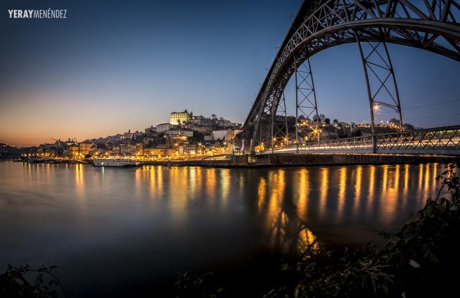 Fotografía nocturna en Oporto