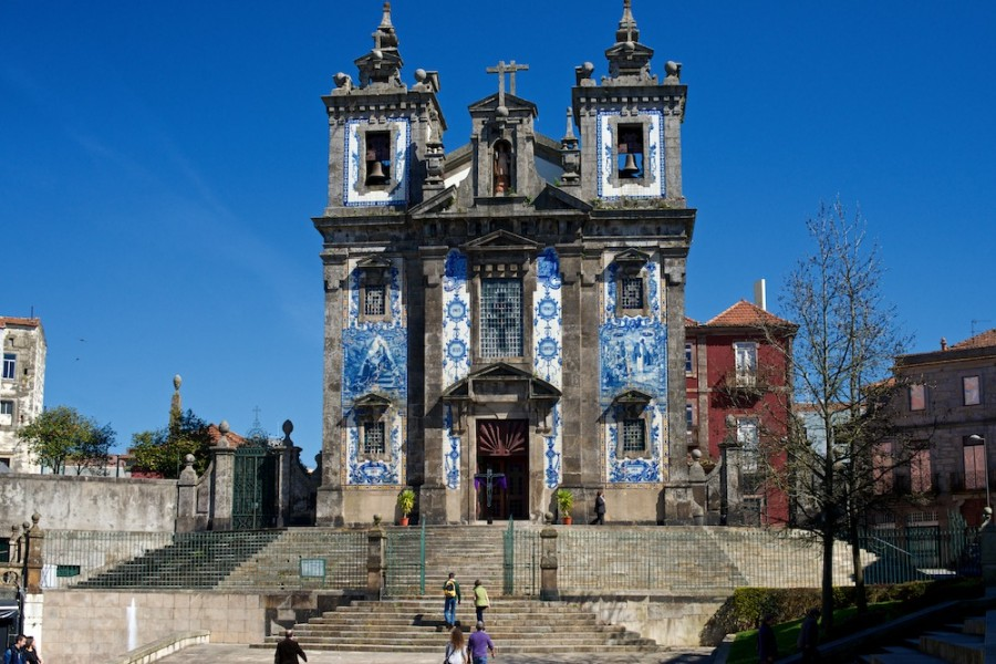 Iglesia De San Idelfonso En Oporto
