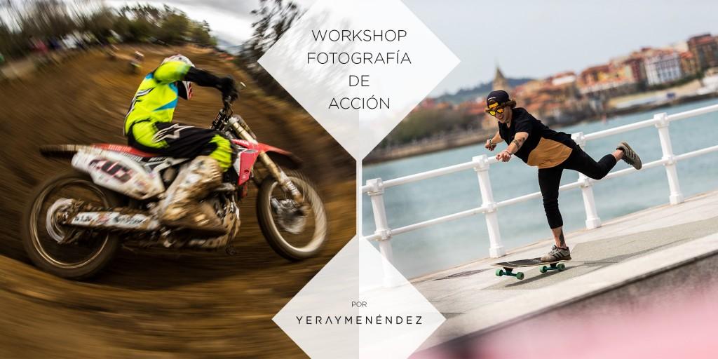 Workshop fotografía de acción